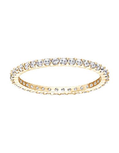 Swarovski Vittore Crystal Goldtone Ring-GOLD-5