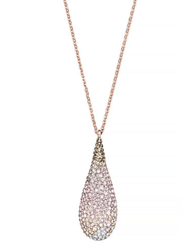 Swarovski Abstract Pendant Necklace-PINK-One Size 86901155_PINK_One Size