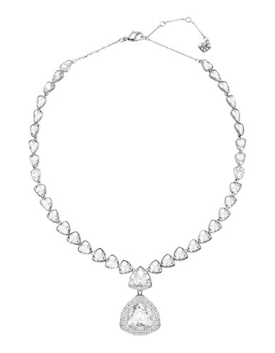 Swarovski Begin Neckalce-RHODIUM-One Size