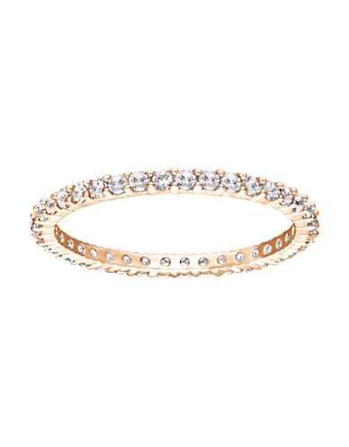Swarovski Vittore Rose-Goldtone Ring-ROSE GOLD-6
