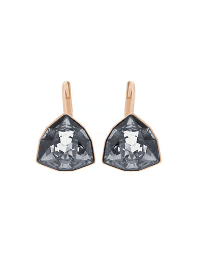 Swarovski Brief Earrings-ROSE GOLD-One Size