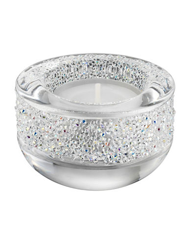 Swarovski Shimmer Tea Light Holder-CRYSTAL-One Size