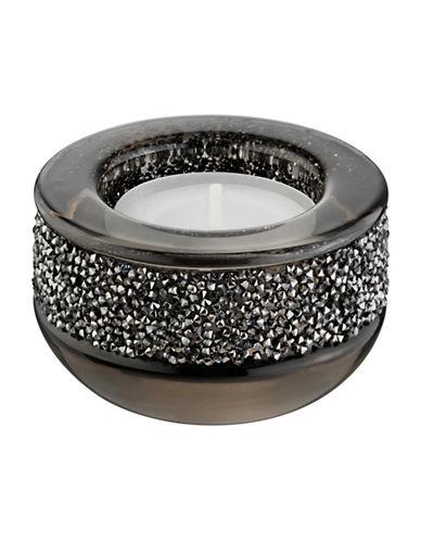 Swarovski Shimmer Tea Light Holder-GREY-One Size