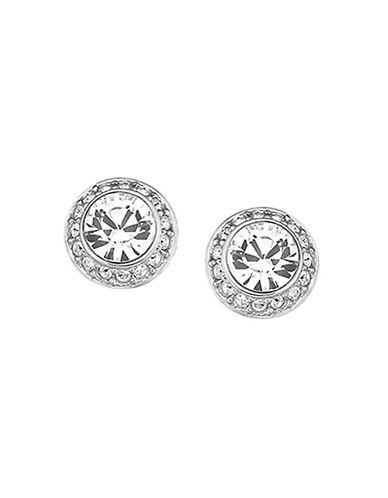 Swarovski Angelic Pierced Earrings Goldplated-SILVER-One Size