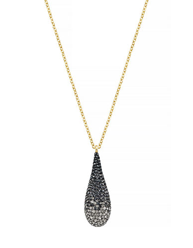 Swarovski Abstract Swarovski Crystal Pendant Necklace-GOLD-One Size 87765041_GOLD_One Size