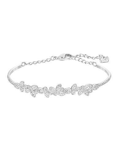 Swarovski Diapason Bangle Bracelet-CRYSTAL-One Size