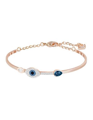 Swarovski Evil Eye Bangle Bracelet-BLUE-One Size
