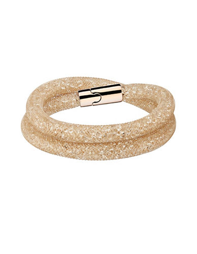 Swarovski Stardust Crystal Deluxe Bracelet-GOLD-One Size