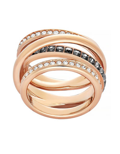 Swarovski Dynamic Crystal Ring-ROSE GOLD-6