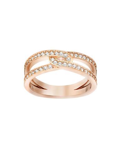 Swarovski Creativity Crystal Ring-ROSE GOLD-5