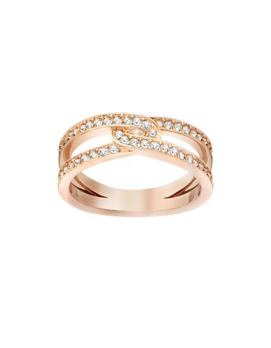 Swarovski Creativity Crystal Ring-ROSE GOLD-9