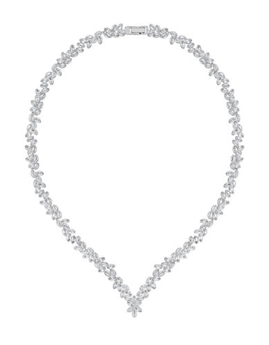 Swarovski Diapason V Necklace-RHODIUM-One Size