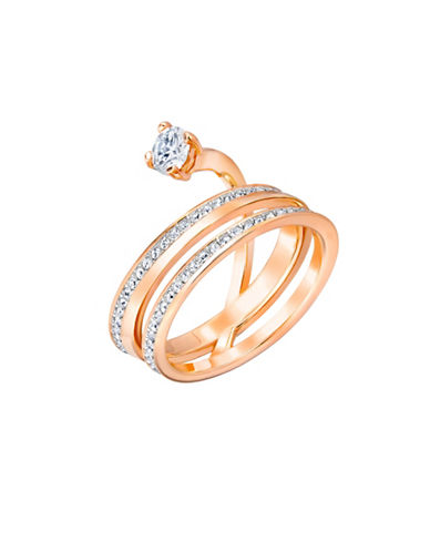 Swarovski Fresh Crystal Ring-ROSE GOLD-7