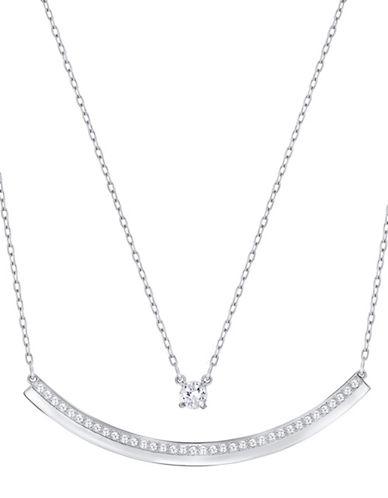 Swarovski Fresh Crystal Necklace-CRYSTAL-One Size
