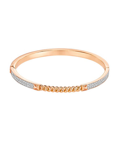 Swarovski Fiction Crystal Rose Goldplated Bracelet-ROSE GOLD-One Size