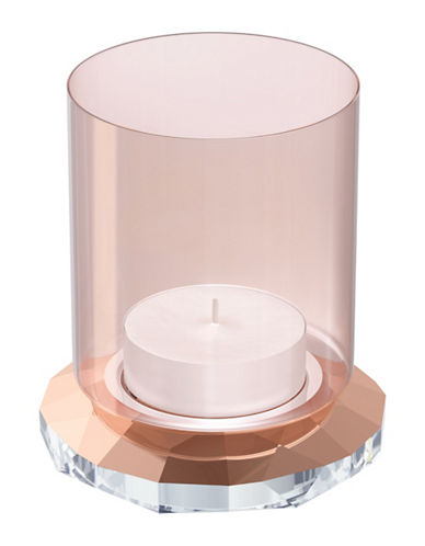 Swarovski Allure Tea Light Holder-ROSE-One Size