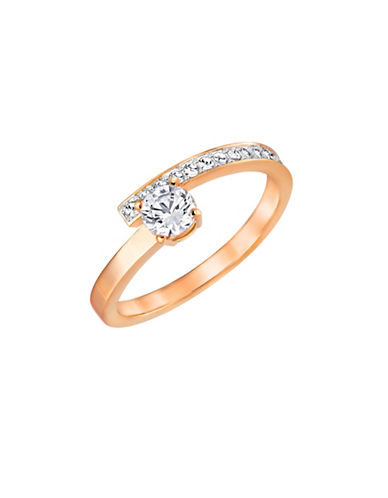 Swarovski Fresh Crystal Rose Goldplated Ring-ROSEGOLD-8