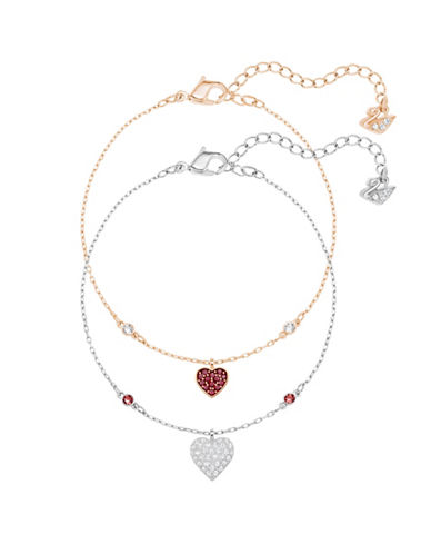 Swarovski Crystal Wishes Heart Bracelets-ASSORTED-One Size