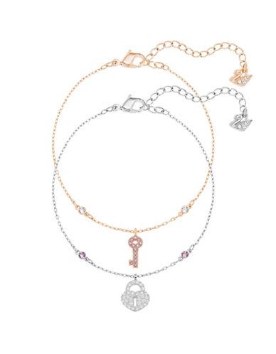 Swarovski Crystal Wishes Key Bracelets-ASSORTED-One Size