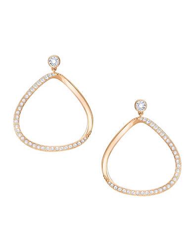 Swarovski Gaya Crystal Rose Goldplated Earrings-ROSE GOLD-One Size