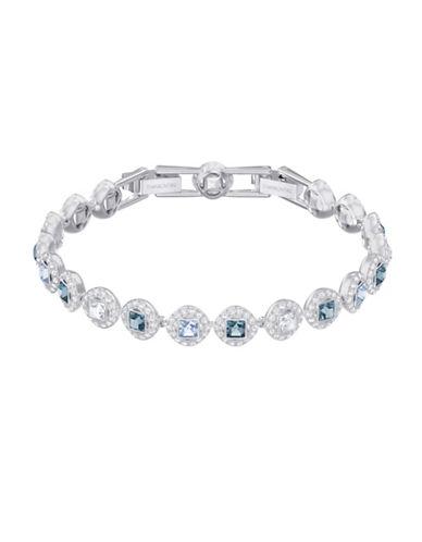Swarovski Angelic Multicolour Crystal Bracelet-SILVER-One Size