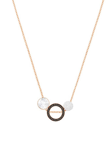 Swarovski Hote Pendant Necklace-ROSE GOLD-One Size