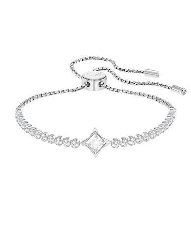 Swarovski Subtle Star Bracelet-SILVER-One Size