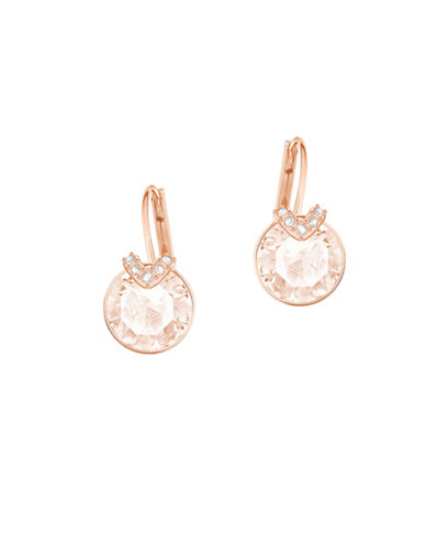 Swarovski Crystal Bella V Earrings-ROSE GOLD-One Size