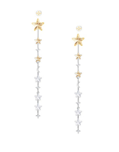 Swarovski History Swarovski Crystal Star Dangle & Drop Earrings-TWO TONE-One Size