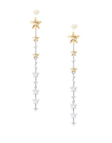 Swarovski History Swarovski Crystal Star Dangle & Drop Earrings-TWO TONE-One Size
