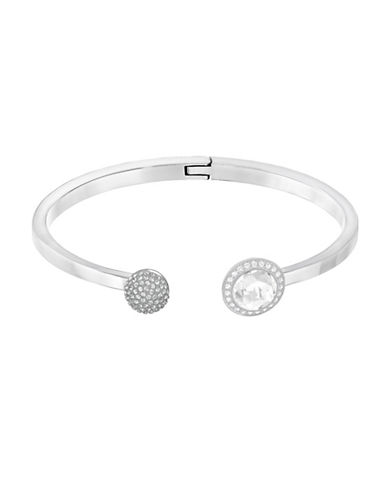 Swarovski Hote Pave Bangle-SILVER-One Size