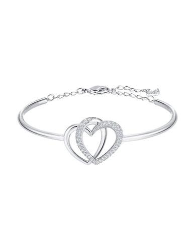Swarovski Dear Heart Bracelet-SILVER-One Size