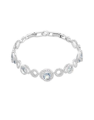 Swarovski Crystal Generation Bracelet-SILVER-One Size