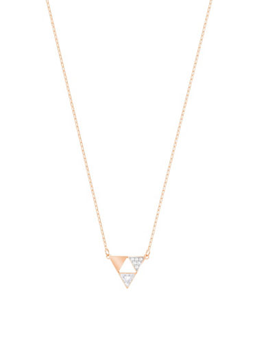 Swarovski Heroism Pendant Necklace-ROSE GOLD-One Size