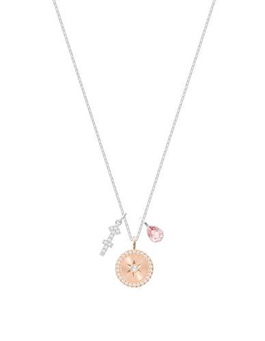 Swarovski Zodiac Pavé Crystal Sagittarius Pendant Necklace-SILVER-One Size