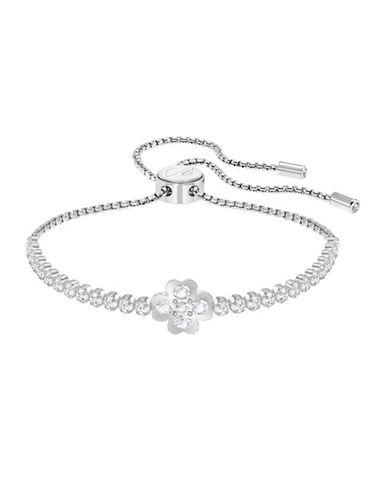 Swarovski Subtle Clover Bracelet-SILVER-One Size