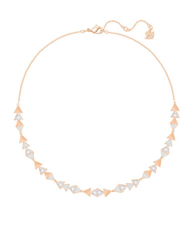 Swarovski Heroism Pave Necklace-ROSE GOLD-One Size
