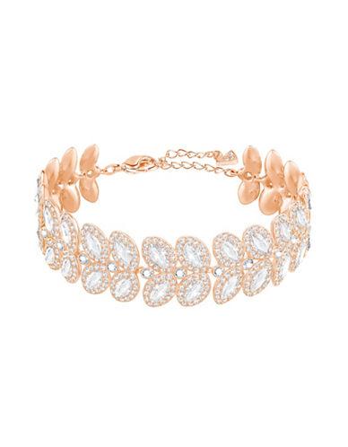 Swarovski Crystal Baron Bracelet-GOLD-One Size