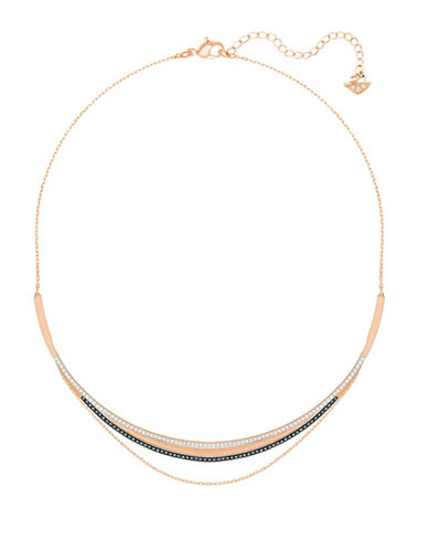 Swarovski Crystal Hero Necklace-ROSE GOLD-One Size