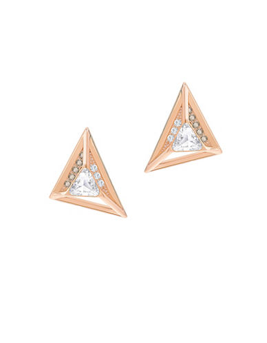 Swarovski Hillock Triangle Earrings-ROSE GOLD-One Size