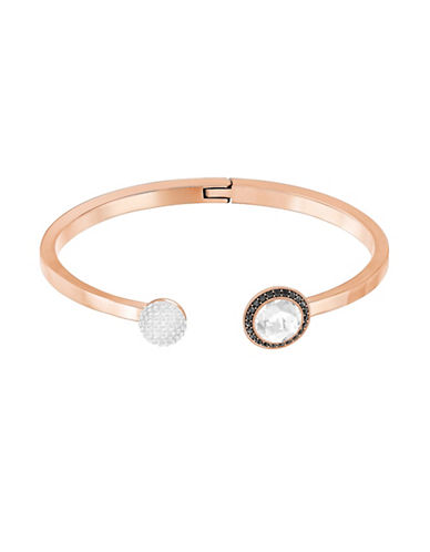 Swarovski Hote Open Bangle-ROSE GOLD-One Size