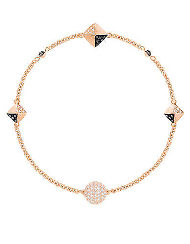 Swarovski Remix Crystal Bracelet-ROSE GOLD-One Size
