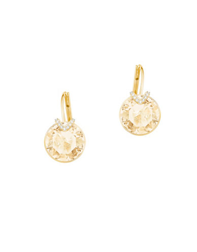 Swarovski Crystal Bella V Earrings-GOLD-One Size