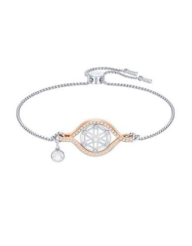 Swarovski Humanist Flower Of Life Bracelet-SILVER-One Size