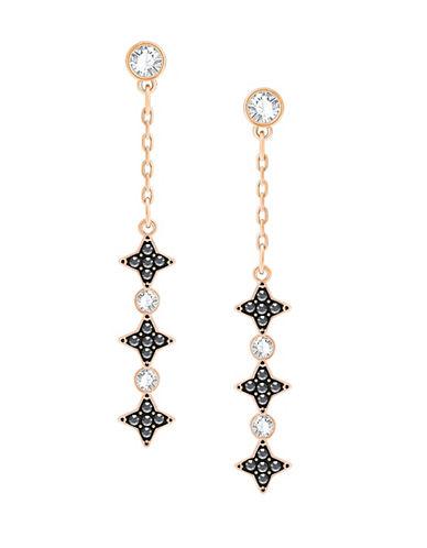 Swarovski Swarovski Crystal Pave Drop Earrings-ROSE GOLD-One Size
