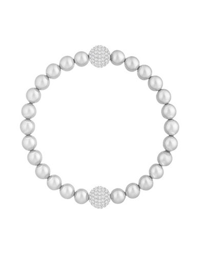 Swarovski Swarovski Remix Faux Pearl and Crystal Beaded Bracelet-WHITE-One Size
