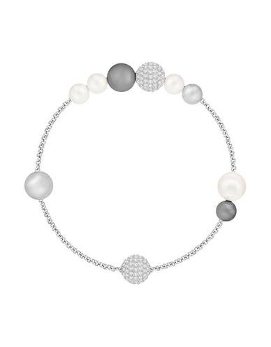 Swarovski Swarovski Remix Crystal Faux Pearl Bracelet-SILVER-One Size