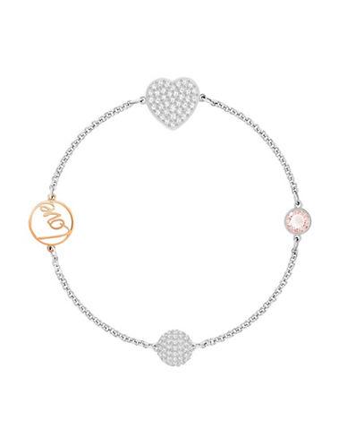 Swarovski Swarovski Remix Crystal Heart Bracelet-SILVER-One Size