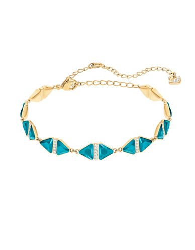 Swarovski Labyrinth Crystal Bracelet-TURQUOISE-One Size