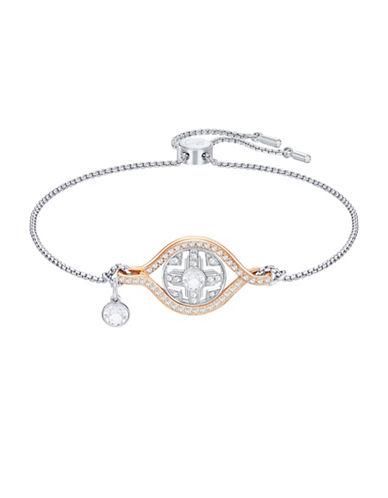 Swarovski Humanist Crystal Sun Bracelet-TWO TONE-One Size